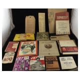 Paper Memorabilia From the 40