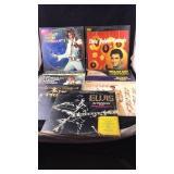 Nine Elvis LP Albums