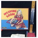 Weaving Loom and Vintage Skirt Marker for Hemming
