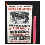 Beastie Boys/Run DMC Concert Poster Print