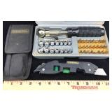 Durapro Box Exacto/level Tool and Socket Set