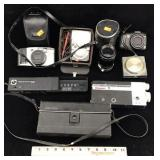 Vintage Assortment of Cameras and Electronics