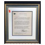 Letter discussing Navy Ship Cushing DD 985 S