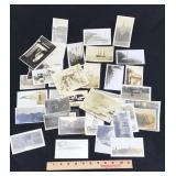 Assortment of Original WW1 /WW2 Photographs