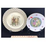 2 Royal Doulton Porcelain Display Plates