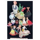 Assortment of Dolls