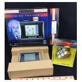 Einstein Mind Trainer Device and Rubik