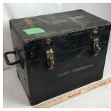 WWII 1943 Magnavox Signal Corps US Army Chest
