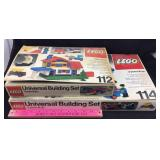 2 Vintage Lego Universal Building Sets