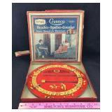 Old Cressco Reader-Speller-Counter Game Board