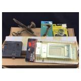 Lot of Various Lock/Hinge Parts Plus More