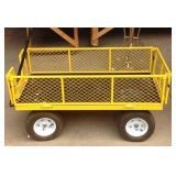 Large garden utility cart