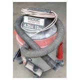 Ridgid 3.25 hp 12 gallon wet dry shop vac