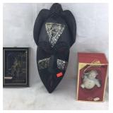 African Mask, Lenox Snowman, Sentry Art
