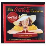 Coke Calendar in Protective Cardboard-2003