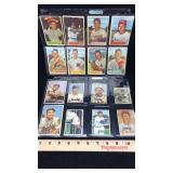 24 Old Bowman Baseball Cards circa 1948 - 1954