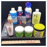 Assortment of Gun Cleaning Supplies