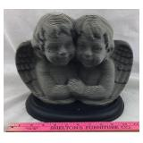 Cardboard Bust of 2 Angels