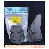 Fobus SG21 Paddle Holster and Safariland Holster