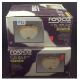 2 Royce lighting ceiling fixtures