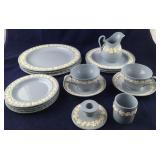 Light Blue Traditional Wedgwood Dinnerware