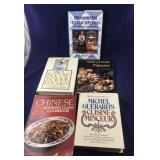 5 Nice Foreign Recipe Cookbooks, French, Chinese