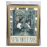 Signed Mardi Gras Art - Print