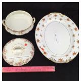Charles Field Haviland Dish & Noritake Platter