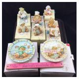 Cherished Teddies Figurines & Decorative Plates