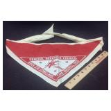 1955 General Herkimer Council scout necktie ascot