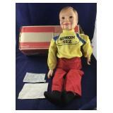 Boxed Horseman Simon Sez Ventriloquist Doll