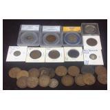 British territories coin lot