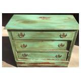Oak 3 Drawer Dresser