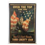 Original WW1 Third Liberty Loan Poster