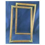 2 Nice Vintage Wooden Frames