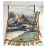 Thomas Kinkade Tapestry - Summer