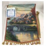 Thomas Kinkade Tapestry - Autumn