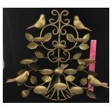 Golden Bird Candle Stand