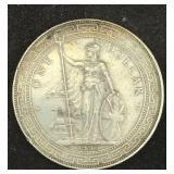 1900 British Trade One Dollar