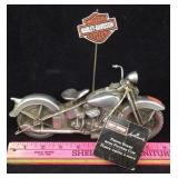 Harley Davidson Motorcycle Photo Stand