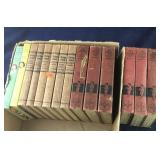 Box of Cherry Ames and Four Little Blossoms Books