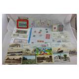 Vintage Stamps and Vintage Postcards