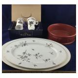 Vintage Noritake Platters, 2 Royal Tara Irish