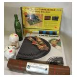 Cutting Board, Stovetop Grill, Travelling Games,