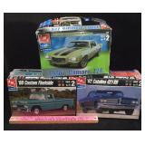 AMT Ertl 1:25 Scale Model Cars