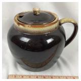 Glazed Ceramic Bean Pot