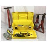 Toolbox and tools lot
