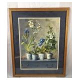 Floral lithograph
