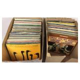 33 RPM Vinyl Records Assortment - Mostly Jazz