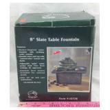 Pacific Rim Slate Table Fountain NIB